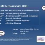 RCPI Masterclass Series 2019